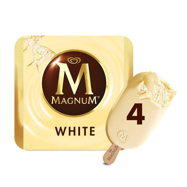 Alimentari Buonconsiglio ALGIDA MAGNUM WHITE X 4