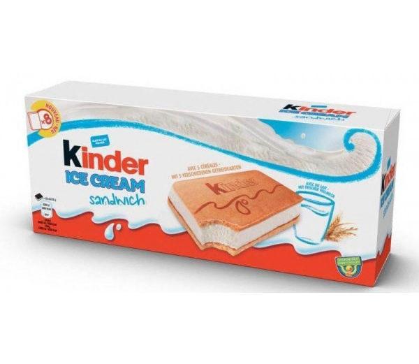 Alimentari Buonconsiglio KINDER ICE CREAM SANDWICH X 6