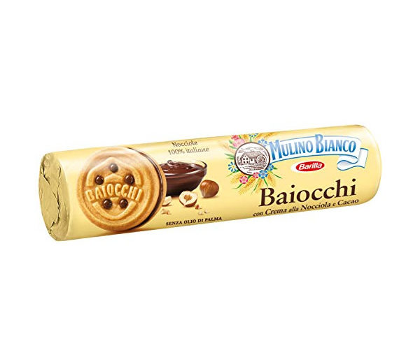 Alimentari Buonconsiglio MULINO BIANCO BAIOCCHI TUBO 168 GR