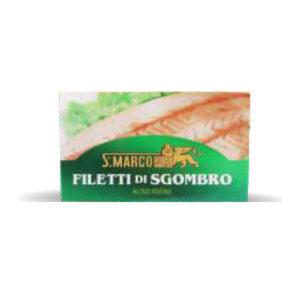 Alimentari Buonconsiglio SAN MARCO SGOMBRO ALL' OLIO D'OLIVA 120 GR