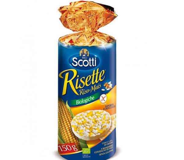 Alimentari Buonconsiglio SCOTTI GALLETTE DI RISO E MAIS