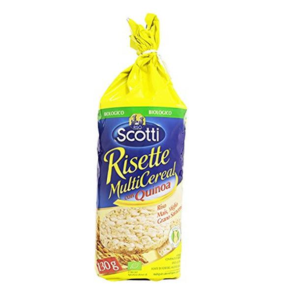 Alimentari Buonconsiglio SCOTTI GALLETTE DI RISOE QUINOA