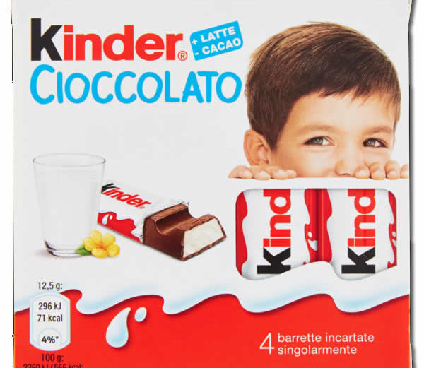 Alimentari Buonconsiglio KINDER CIOCCOLATO T4 50 GR