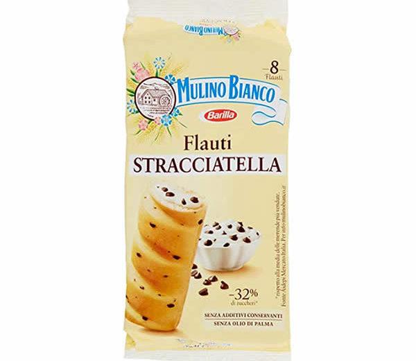 Alimentari Buonconsiglio MULINO BIANCO FLAUTI STRACCIATELLA 8 PEZZI