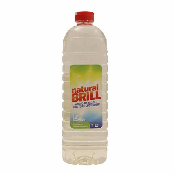Alimentari Buonconsiglio NATURAL BRILL ACETO DI ALCOOL PULITORE 1 L
