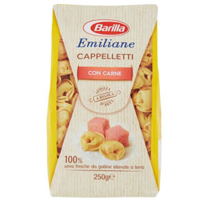 Alimentari Buonconsiglio BARILLA EMILIANE TORTELLINI CARNE 250 GR