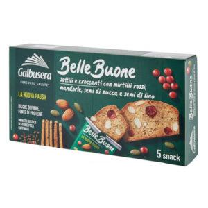 Alimentari Buonconsiglio GALBUSERA FETTE BELLE E BUONE CON MIRTILLI ROSSI