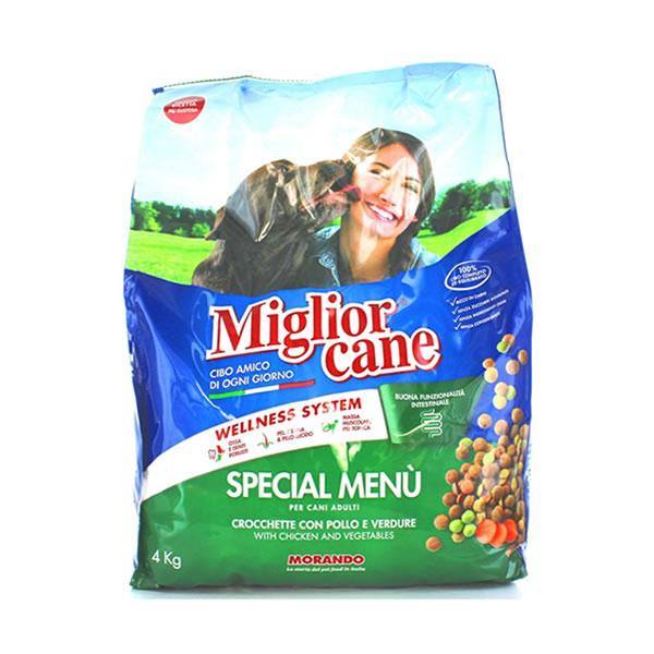 Alimentari Buonconsiglio MIGLIOR CANE CROCCHETTE POLLO E VERDURE 4 KG