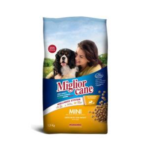 Alimentari Buonconsiglio MIGLIOR CANE MINI CROCCHETTE MANZO 1,5 KG